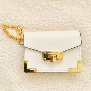 NWT: Michael Kors Card Holder Wallet - Bag Charm